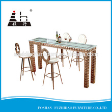 Modern design MDF table top cover bar table furniture