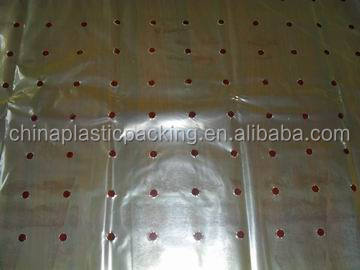 plastic micro-perforated films
