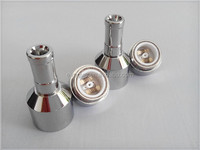 2014 double heating wire stainless steel Mech mod Ceramic nail atomizer
