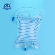 Factory Supplier female urine bags 2000ml pvc
