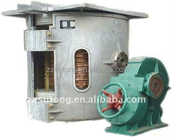 1 ton Stainless Steel Melting IF Induction Furnace Cast Iron Furnace