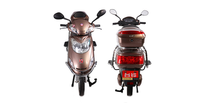 dongguan tailg 600w 72v black steel frame electric motorcycle with rear box TDR538Z