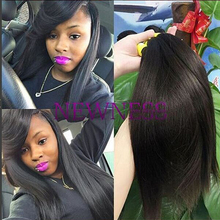 Human Hair Material and Hair Extension Type hair pieces braids