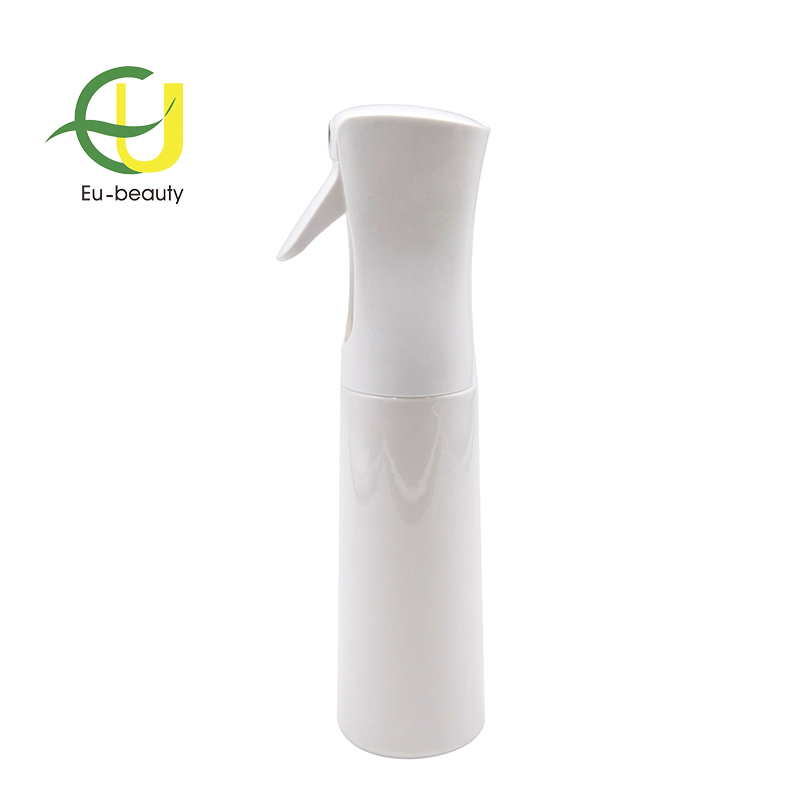 Popular 200ml Continous spray cosmetic pet plastic bottle
