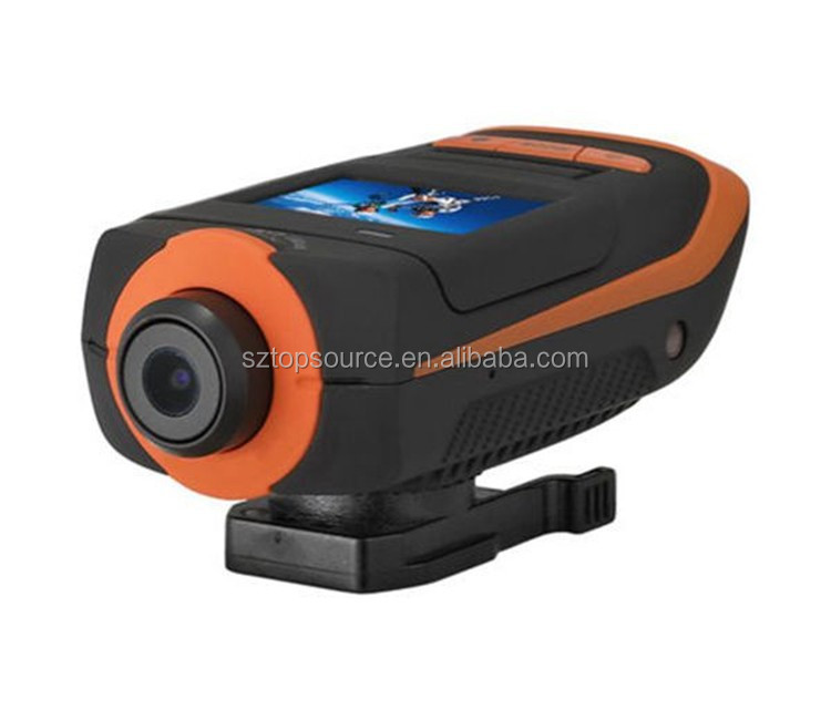 Waterproof Sport Camera AT90 Ambarella Sport dv Full HD <strong>1080P</strong> Mini Video Action Camera
