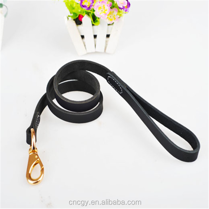 Various Size Leather Wholesale Pet Dog Slip Leads dog show leads