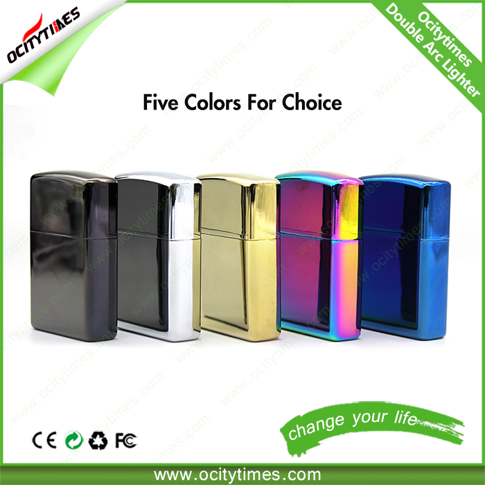 Ocitytimes unique design usb rechargeable cigarette lighter/ rechargeable usb cigarette lighter/ usb charge lighter supplier