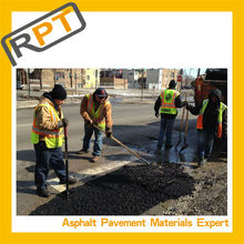Cold asphalt for repair holes in the asphalt roads