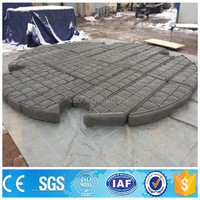 stainless steel SUS 304 demister pad for gas scrubber made in China