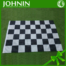 best quality promotion profssional makers OEM 90*150cm checkered flag ribbon