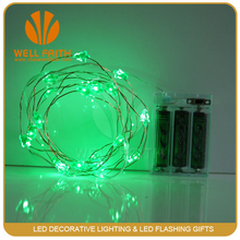 Full Wave Green Wire Christmas String Lights 7 Meters White LED M5