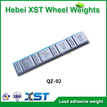 Self-adhesive wheel weights