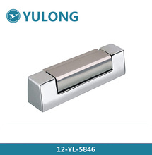 high quality stainless steel / aluminum furniture gass door cabinet shower strap hinge