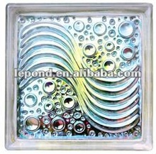 Glass Brick Mosaic Tile, Mixed Colors Glass Brick make in different country