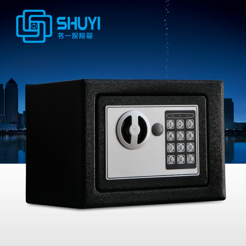 Super mini cheap electronic safe for keeping jewelry, money,cash,card...