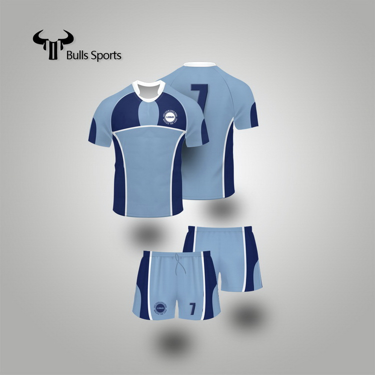 Most popular creative good quality rugby jersey sublimation printing custom