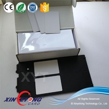 13.56MHZ MF Classic 1K RFID Inkjet IC Card For Access Control
