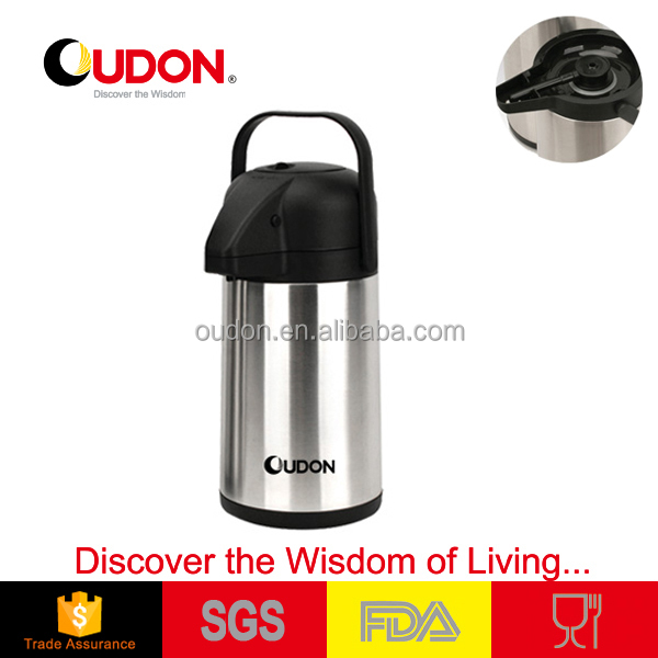 stainless steel vacuum thermos air pressure water pot