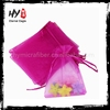 Multifunctional stand up organza bag for wholesales