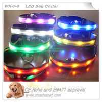 2017 new product in cheap pet products with Led pet collar