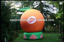 Advertising/exhibition/promotion fruit/inflatable orange