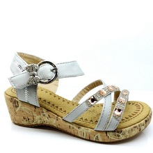 2014 Latest High Quality Fashion High Heel Sandals for Kids Girl From Guangdong Factory