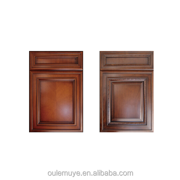 Chinese Interior Finished Surface Cherry Solid Wooden Doors wood