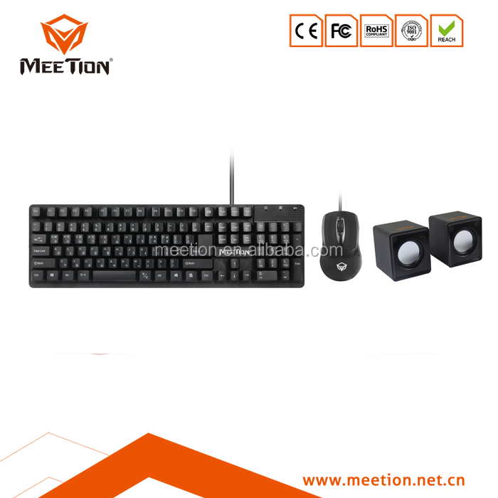 new arrival computer keyboard mouse and speaker combo desktop