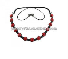 YiWu 2012 most popular crystal collar necklace