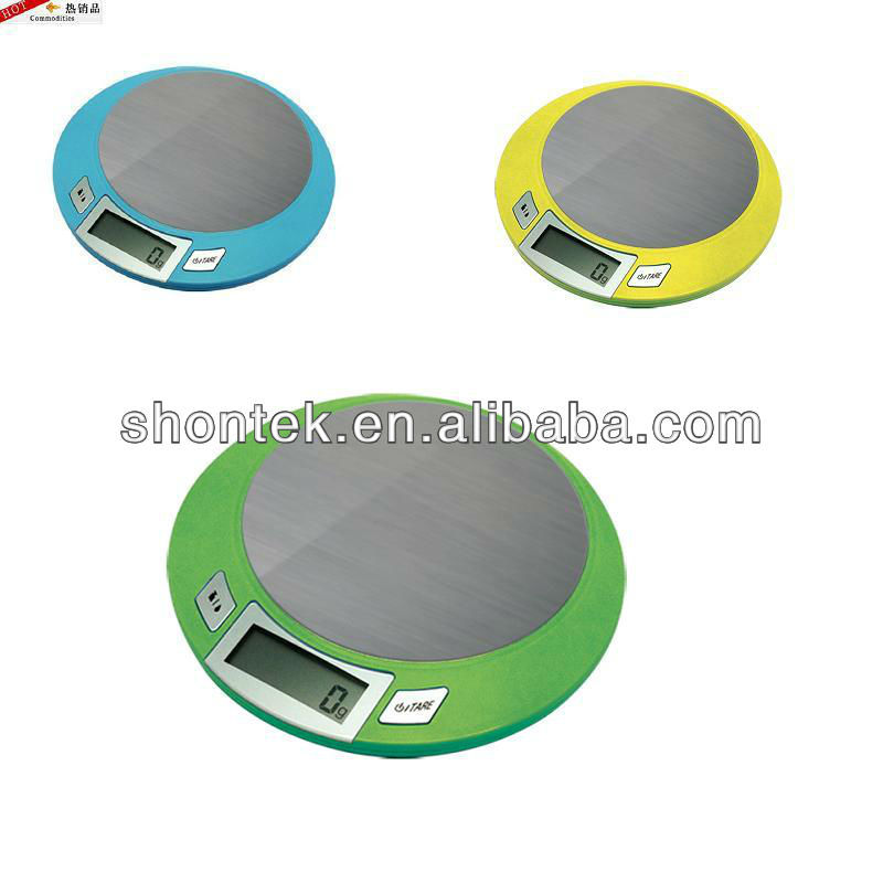9 lb/5kg S.S Digital Kitchen Scales with CE/ROHS