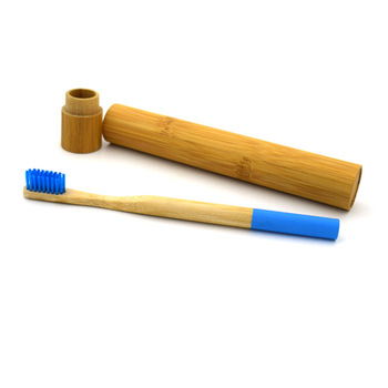 100% eco friendly round handle high quality bamboo toothbrush