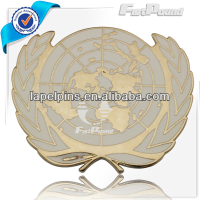 Imitation Hard Enamel Metal Safety Pin Badge