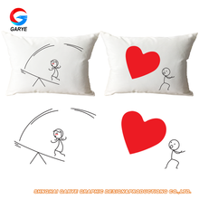 Couple Love Valentine gift Pillow Cases New design Pillow Covers,wholesale pillow cases