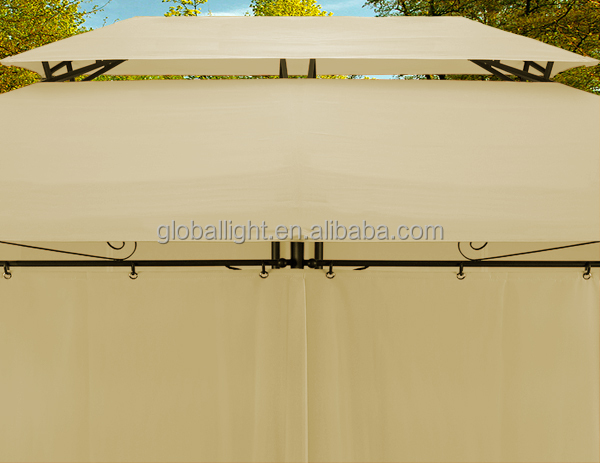 4x3 beige pavilion awning metal gazebo tent buy gazebo tent awning metal gazebo tent 4x3 beige. Black Bedroom Furniture Sets. Home Design Ideas