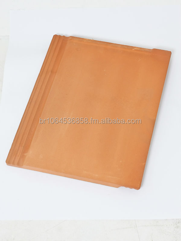 Flat Ceramic Roof Tile Natural