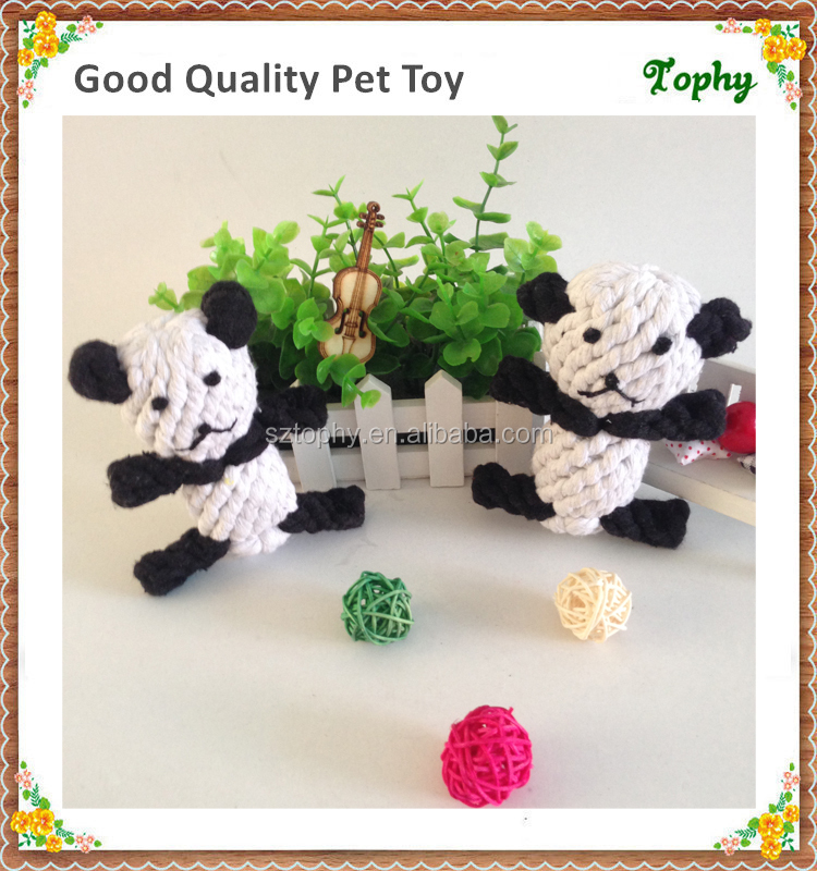 The Panda Pet Toys Natural Dog Toys