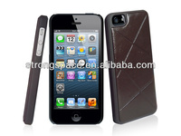 Leather case for apple iphone 5 5s from China manufacturer