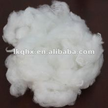 2D raw white bosilun fiber for spinning yarn