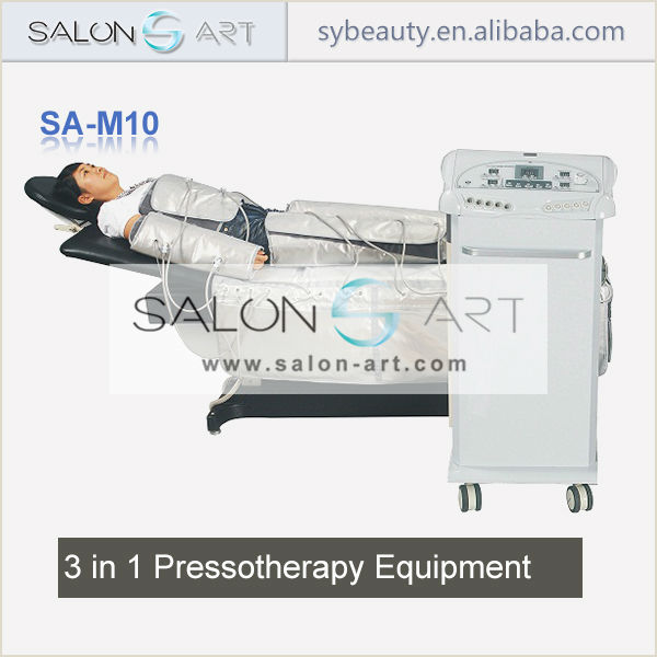 SA-M10 2014 pressotherapy 3 in 1 slimming beauty machine