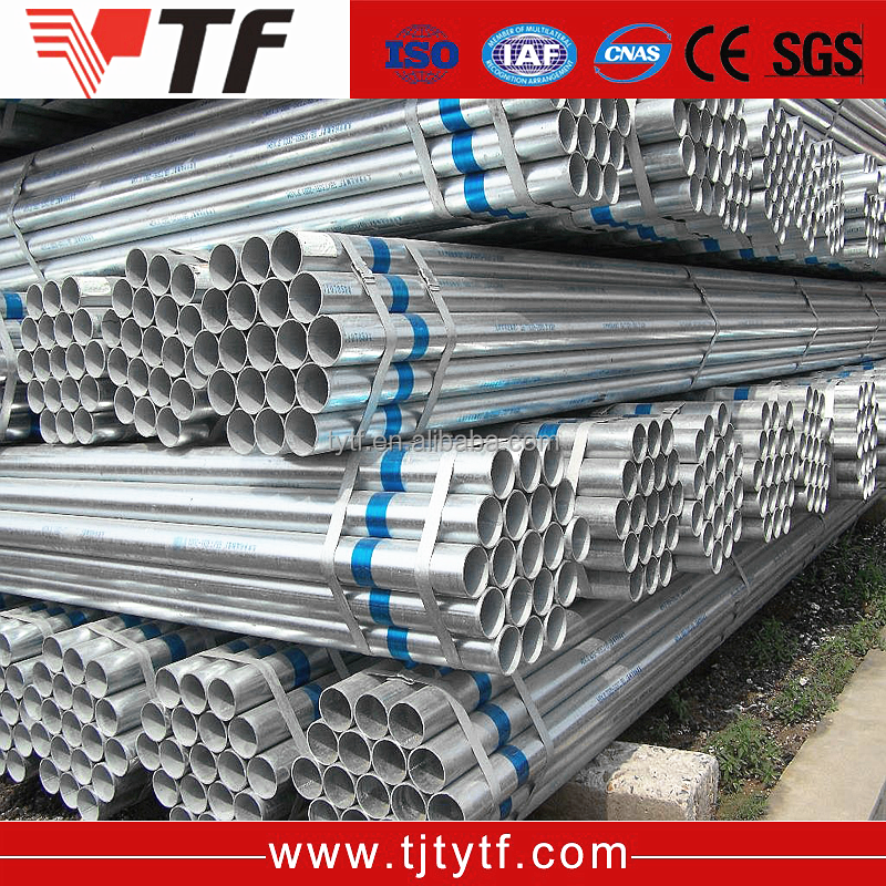 Free samples Green house tube galvanized price list