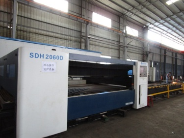 Laser Cutting for Material Handling Equipment