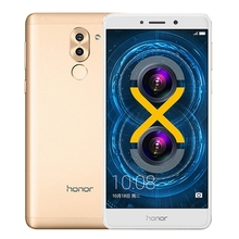 2017 New Arrivals Original Huawei Honor 6X 64GB New design Android 4G network wholesale smartphone In stock