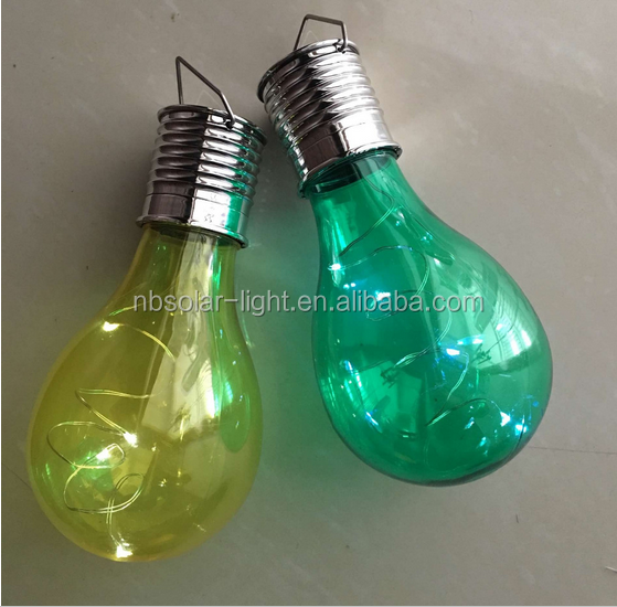 2016 New rechargeable led mini solar light bulb light bulb jar