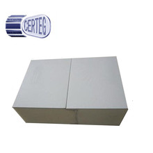 Sound Absorbing Fire-proof Building Construction Material PU Steel Honeycomb Core Sandwich Panel