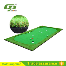 2018 trending products used green golf putting mat with low price