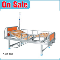 Easy to use luxury wooden queen size folding medical bed