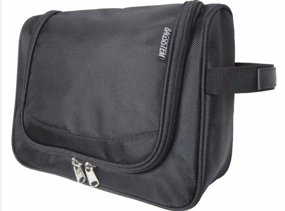 Toiletry Bag For Men & Women - Hanging Toiletries Kit For Makeup, Cosmetic, Shaving, Travel Accessories, Personal Items - Use In