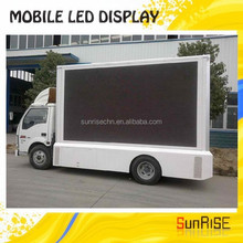 Double Side Advertising Electronic Truck Mounted Led Display P10 Led Mobile Advertising Screen In Ali,3d Video Truck Led display
