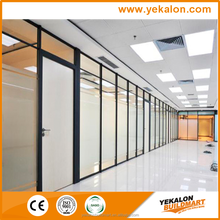 Yekalon curtain wall system 2015 hot sale bathroom toilet cubicle wall partition