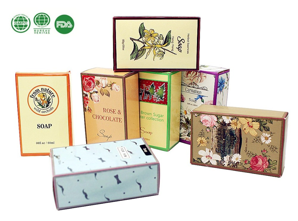 Various perfumed hand made bath soap bath gift set skin care bath soap